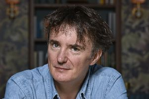 Dylan Moran is touring his new show, Dr Cosmos, catch him in Edinburgh this month. Picture: Neil Hanna
