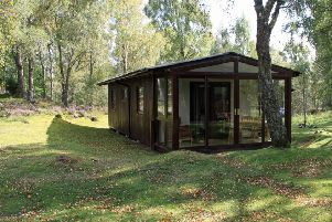 Picture: one of the chalet's at the Macdonald Lochanhully Woodland Resort