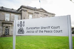 Two people are expected to appear at Dumbarton Sheriff Court. Picture: John Devlin