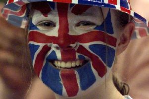 Many 'dahn saff' refer to Britain as 'England' and consider the Union flag  'English'. Picture: AP