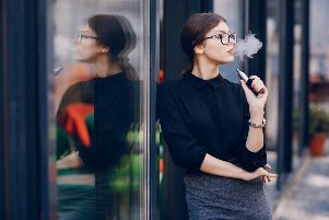 Vaping is increasing in popularity, with three million regular users in the UK
