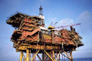 There was good news for the oil industry in today's GERS report. Picture: SWNS