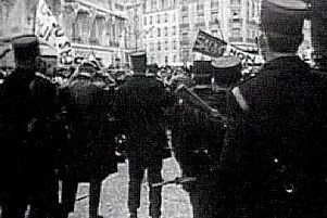 Paris in 1968 saw riots started by students at the Sorbonne ignite a Europe-wide movement of civil rights protest. Picture: Bill Strain