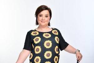 Susan Calman invites you to sit down for an evening of stand up with Frange Benefits on BBC 2. Picture: Steve Ullathorne