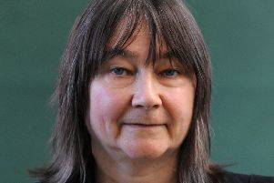 Ali Smith saw her work performed for the first time. Picture: Lisa Ferguson