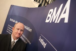 Peter Bennie of BMA Scotland