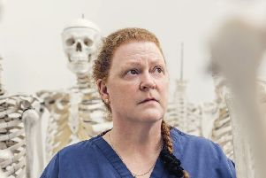 Sue Black told the audience forensic science doesn't always sway jury. Picture: Contributed