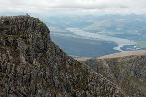 A new challenge, to scale the 1,345 metre high Ben Nevis, in lead weighted boots and a 1930s diving suit ' which at 90 kilos weighs more than the wearer ' is sure to turn heads like never before.