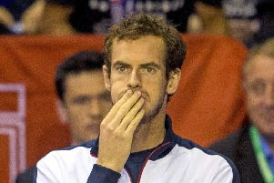 Andy Murray is aware that  he may not get the chance to compete in front of a Scottish crowd again. Picture: SNS.