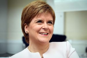 Scotland's First Minister Nicola Sturgeon. Picture: AFP/Getty