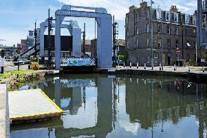 Leamington Lift Bridge on Union Canal. Picture: Malcolm McCurrach