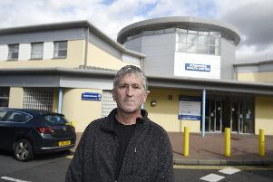 Kevin Macdonald who was 5mins late for an appointment with a doctor at Bonnyrigg Health Centre and they removed him from the register