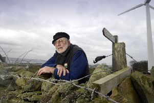 "Willie McSporran, 82, who led the island's famous community land buyout  in 2002, said: ""It's terrible that these things are happening now after all these years."" Picture: Donald MacLeod."