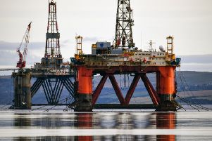 The sales value of oil and gas produced in Scottish waters has risen by almost a fifth in the past year. Picture: Getty Images