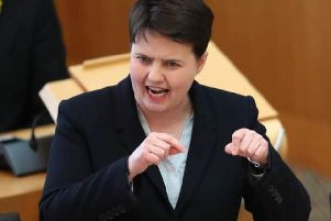 Ruth Davidson raised Scotland's education system at FMQs