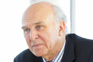 Lib Dem leader Sir Vince Cable is hoping to persuade Labour and Tories to help form a newly powerful, centrist political force (Picture: Gordon Fraser)