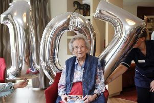 107 year old Ann Robson