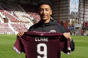Sean Clare has signed a three-year deal with Hearts. Pic: Heart of Midlothian FC