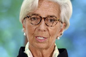 IMF chief Christine Lagarde: Brexit costs exceed savings. Picture: John Stillwell/Pool via AP