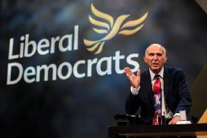 The Lib Dem leader is expected to use today's key note address to the party to call on Prime Minister Theresa May to 'shock us all' and admit Brexit's time has passed and call a fresh referendum. Picture: Getty