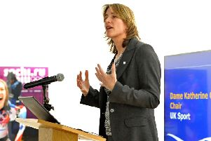 Scotland's Olympic rowing gold medallist Dame Katherine Grainger is now the chair of UK Sport. Picture: Nick Ansell/PA
