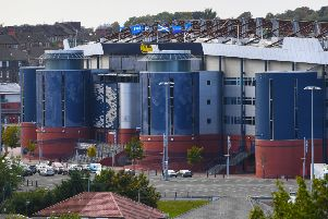 Queen's Park are to leave the national stadium and move to Lesser Hampden, next door. Picture: SNS