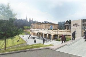 The 22 million overhaul of the Scottish National Gallery will create direct access to exhibition spaces from East Princes Street Gardens.