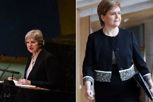 Nicola Sturgeon and Theresa May both gave speeches about Brexit that changed nothing, says Labour's Lesley Laird