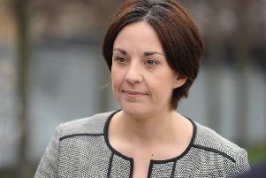 Former Scottish Labour leader Kezia Dugdale. Picture: TSPL