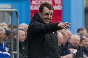 Stirling Albion have parted company with manager Dave Mackay. Picture: Sammy Turner/SNS