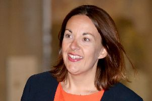 Jennie Formby said it was 'not sustainable to spend any further party funds' on defending Ms Dugdale from the defamation suit. Picture: Jane Barlow/PA Wire