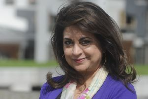 Baroness Mobarik, who has been appointed by the Scottish Tory leader to head a commission on improving party diversity, said minority representation was 'dismally low, or rather non-existent when it comes to the Conservative Party in Scotland'.''Picture: TSPL