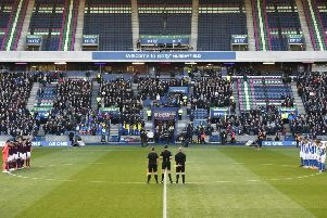 Hearts played matches at BT Murrayfield last season while the new main stand at Tynecastle was being built. Picture: Rob Casey/SNS