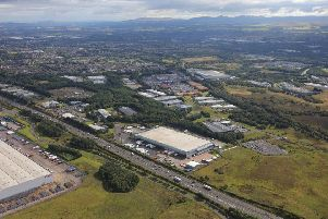 The 186,000 sq ft facility is currently leased to delivery business DHL. Picture: Contributed