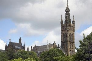 University of Glasgow. Picture: TSPL