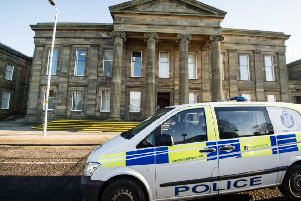 The couple from Bellshill, Lanarkshire, went on trial at Hamilton Sheriff Court and denied the allegations against them. Picture: John Devlin