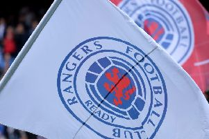 The famous Rangers logo. Picture: Getty Images