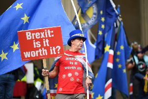 The latest Citibase business confidence index found 56 per cent of Scottish SMEs would support a second Brexit referendum. Picture: Jeff J Mitchell/Getty Images