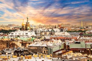 St Petersburg does not disappoint, with its incredible  architecture. Pic: TSPL