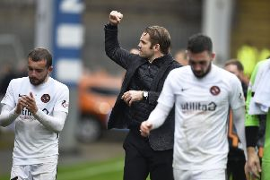 New Dundee United boss Robbie Neilson got the travelling fans back on side with a win. Picture: SNS.