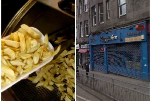 The Kingfisher chippy on Bread Street has built up notoriety on Reddit. Picture: TSPL/Google Street View