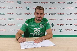 Former Sunderland winger Charalampos Mavrias. Picture: Hibs FC