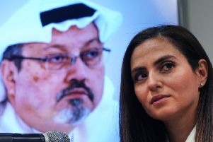 Sherine Tadros, of Amnesty International, has called for a UN investigation into Jamal Khashoggi's fate (Picture: Timothy A Clary/AFP/Getty)