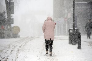 The Beast From The East blanketed Scotland in snow in March this year. Picture: Michael Gillen/ JP