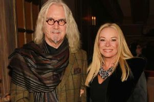 Billy Connolly and wife Pamela Stephenson