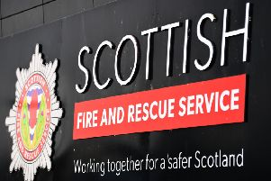 The fire has left one person dead.