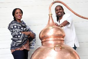 Jacine and Paul Rutasikwa are the founders of Matugga Rum.