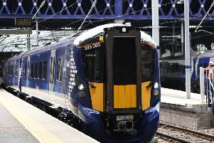 ScotRail's new train. Picture: John Devlin
