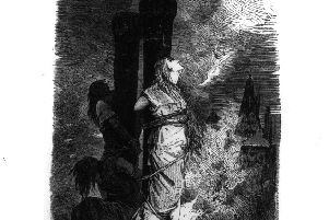 So-called witches being burned at the stake.  Image: Henry Guttmann/Getty Images)