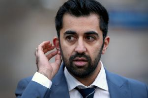 "Justice Secretary Humza Yousaf said ""one death is one too many"", adding: ""Behind these figures are grieving families and friends and my sincere sympathies go out to all those who have lost a loved one. Picture: Jane Barlow/PA Wire"